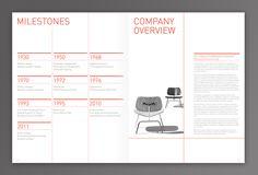 Annual Report  //  Herman Miller by Noémie Pottiez, via Behance