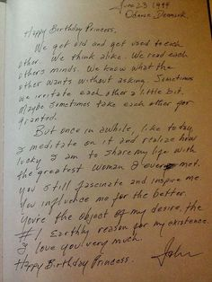 Johnny Cash's love letter to June. No one writes like they used to.
