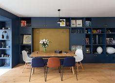 Leibniz - GCG ARCHITECTES - Paris - Salle à manger - salon - rangements