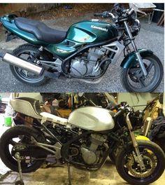 Cafe Racer project Kawasaki ER 5 - Presentazioni e lavori sulle nostre moto