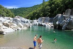 south yuba river state park swim hole .
