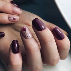 Every year, new nail designs are created and brought to light, but when we see one of these new manicure designs on other girls' hands, we feel like our nail polish is dull and outdated. So you should stay updated with latest nail art designs, and try dif New Nail Designs, Short Nail Designs, Nail Designs Spring, Nail Design For Short Nails, Elegant Nail Designs, Flower Nail Designs, Cute Nails, Pretty Nails, My Nails