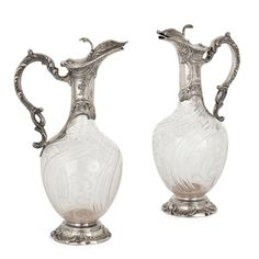 Mayfair Gallery Antiques (@mayfairgallery) • Instagram photos and videos French Rococo, Rococo Style, Acid Etched Glass, Charles Brown, Silver Tops, Oil Bottle, Antique Glass, Cut Glass, Glass Bottles