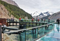 Life on the Edge: The Glacier Skywalk - The GateThe Gate