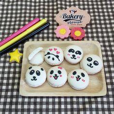 Panda Macaron  www.facebook.com/bakeryhouse101
