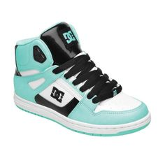 Cute for under the wedding dress :)   ❤Womens Rebound Hi Shoes - DC Shoes