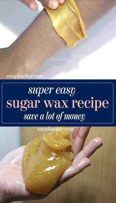 - This super easy Sugar Wax recipe is not as painful as the regular waxing and it has the potential to save you a lot of money. - This super easy Sugar Wax recipe is not as painful as the regular waxing and it has the potential to save you a lot of money. Permanent Facial Hair Removal, Back Hair Removal, Underarm Hair Removal, Sugaring Hair Removal, Remove Unwanted Facial Hair, Hair Removal Diy, Unwanted Hair, Homemade Hair Removal, Upper Lip Hair Removal