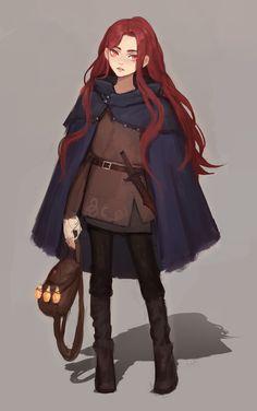 [RF] 11year-old Human Female Warlock, Allison Hildfirme for u/Allenson321