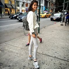 Pin for Later: How to Go Normcore Without Looking Like a '90s Dad Neutral Colors Leandra Medine is no stranger to the normcore trend, and she makes it look so easy.