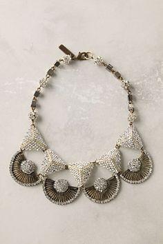 unexplored pyramids necklace via anthropologie $178