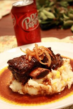 Dr. Pepper Roast...Everything is better with Dr. Pepper - Why yes it is! & i think i already repinned this, but oh well.