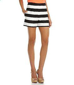Gianni Bini Niles Striped Shorts #Dillards