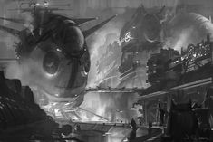 ArtStation - Launch pad, James Chung