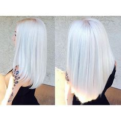"Mermaidians on Instagram: ""Icy Platinum! ❄️ Hair by: @pennymagdziak At: @ubucolorsalon #mermaidians """