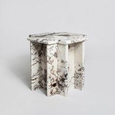 Christopher Stuart for Luur Design. Ziggurat Table in granite.