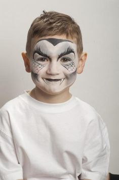 Halloween face painting | Vampire and ghost make-up step-by-step | TheSchoolRun
