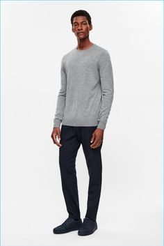 Back to Basics: COS Presents Fall Essentials Cos Man, Latest Clothes For Men, Swedish Brands, Mens Fashion, Fashion Outfits, Knitwear, Normcore, Model, Sweaters
