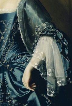 """Mrs. Daniel Sargent (Mary Turner Sargent)"" (1763) - John Singleton Copley - 1737/1815. Oil on canvas."