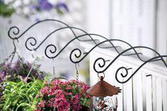 Set 6 Deck Planter Hooks Garden Outdoor Yard Decor | eBay