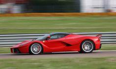 The Ferrari LaFerrari Photo by: Ferrari