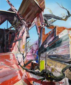 halfmongrel:  Martin Golland, Portal, 2007, oil on canvas, 60 x 50 in