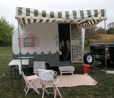 Vintage Canned Ham Camper Trailer Project https://www.vanchitecture.com/2018/01/12/vintage-canned-ham-camper-trailer-project/