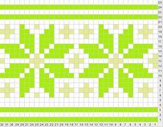 would work with tunisian Knitting Charts, Knitting Stitches, Knitting Designs, Knitting Patterns, Crochet Patterns, Filet Crochet, Crochet Chart, Crochet Motif, Loom Patterns