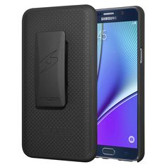 Amzer Shellster Hard Shell Case w/ Holster for Samsung Galaxy Note 5