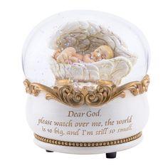 A sweet little memento for the bedside table or shelf in a nursery.