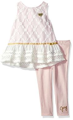 cea19def259 Juicy Couture Pink   Gold Pineapple Ruffle-Accent Romper - Toddler   Girls