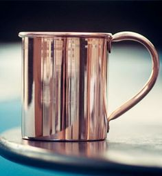 Copper mugs for a classic American cocktail. Moscow Mule Mug...the Deadwood kind of mug. Bourbon anyone?