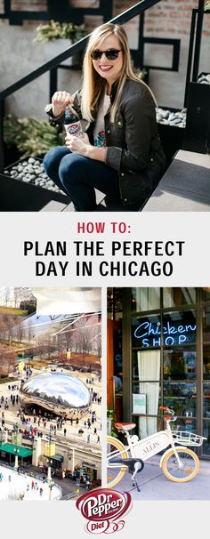 Start your weekend trip planning here—with help from this perfect Chicago itinerary and list of top spots. When exploring charming shops and iconic sites, don't forget to treat yourself with an afternoon break! Stop by Jewel-Osco to pick up a Diet Dr Pepper while you're enjoying everything this Midwest city has to offer. Take a peek at this travel guide to discover some style inspiration as well!