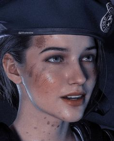 Valentine Resident Evil, Resident Evil 3 Remake, Resident Evil Collection, Jill Sandwich, Leon S Kennedy, Fanart, Jill Valentine, Waifu Material, 3d Girl