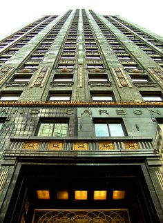 My favorite Chicago building. Carbide and Carbon building, North Michigan Ave