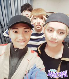 Rap Monster, V ( Taehyung ), Jungkook, Suga