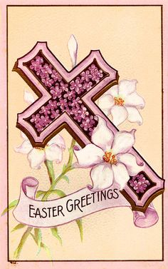 #Easter #antique #cross