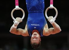 gymnast Jonathan Horton performs on the rings during the Artistic Gymnastics men's qualification at the 2012 Summer Olympics, Saturday, July in London. Nbc Olympics, 2012 Summer Olympics, Gymnastics Team, Artistic Gymnastics, Martial, Gymnastic Rings, Male Gymnast, I Love Swimming, Body Weight Training