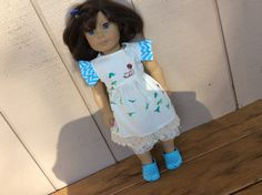 American Girl, Waldorf doll clothes, Wee Wander, vintage lace by judysdollboutique on Etsy