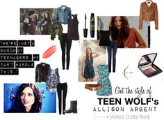 """Allison Argent - Teen Wolf"" by idreaminfilmnoir on Polyvore"