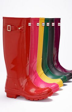 Hunter boots: I'll take a pair in each color, please!