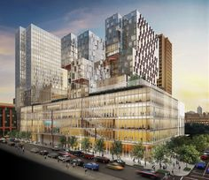 Davis Brody Bond and Kieran Timberlake Unveil Designs for NYU Complex in New York