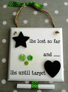 'Return to Slender' Weight-Loss Countdown Plaque