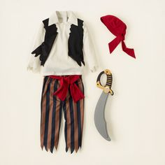 boy - accessories - pirate costume | Children's Clothing | Kids Clothes | The Children's Place $17.47