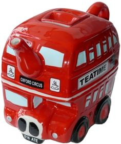 Engelse bus theepot