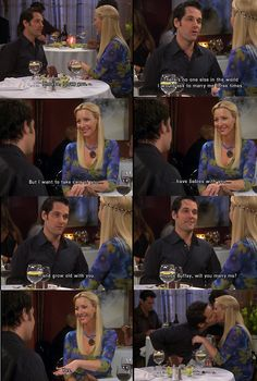 Friends - Mike proposing to Phoebe