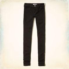 Chicas - Jeans superajustados Ryan Hollister   Chicas - Jeans y partes inferiores   eu.HollisterCo.com