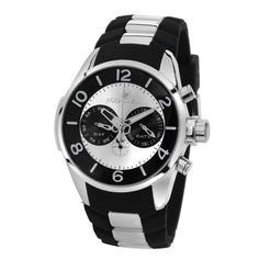 #1: Best Price  Aquaswiss TR805012 Trax Man's Watch Stainless Steel Day and Date military Time