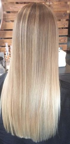 22 Blonde Balayage Hair Designs to Upgrade Your Look - The Right Hair Styles Wig Hairstyles, Straight Hairstyles, Hairstyle Images, Long Haircuts, Wedding Hairstyles, Blonde Highlights, Ash Blonde, Natural Blonde Hair Dye, Blonde Straight Hair