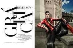 02140 Harpers Bazaar Brasil Abril 2014 | Diane Conterato por Thanassis Krikis  [Editorial]