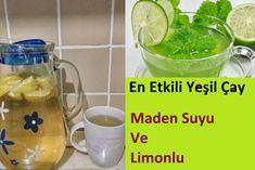 Yeşil Çay, Limon, Maden Suyu İle Zayıflama Kürü | Bilgi Doktoru